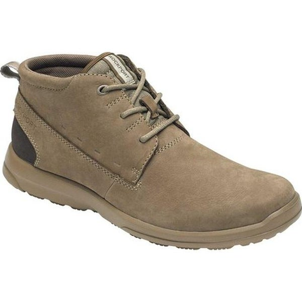 8be3993839d7 Shop Rockport Men s Rydley Chukka Boot Taupe Nubuck - On Sale - Free ...