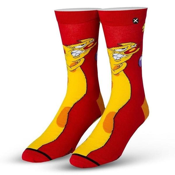 Nickelodeon Cat Dog Socks, 6-13