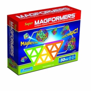 Magformers Super Magnetic 30 Piece Set