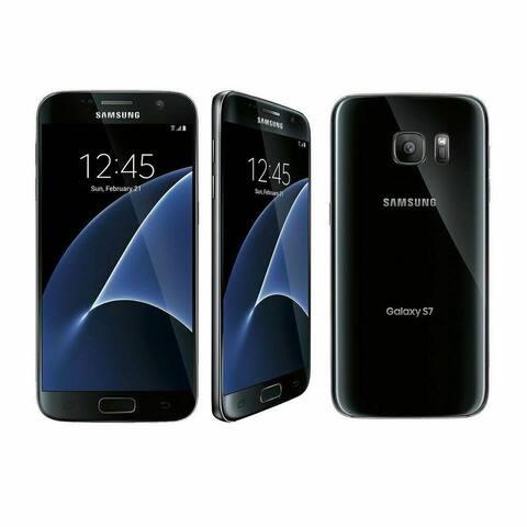 Samsung Galaxy S7 SM-G930V 32GB Black Verizon Refurbished Smartphone