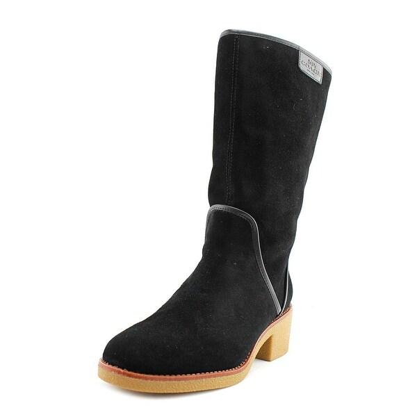 Coach Palmer Women Black Snow Boots