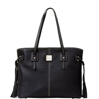 Dooney & Bourke Pebble Grain Leather Davis Tote (Introduced by Dooney & Bourke at $268 in Nov 2013) - black black