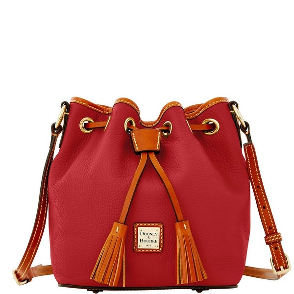 Dooney & Bourke Pebble Grain Kendall Crossbody (Introduced by Dooney & Bourke at $228 in Jul 2016) - Wine