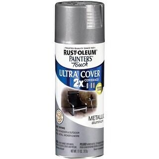Painter's Touch Ultra Cover Aerosol Paint 12oz-Aluminum - gray