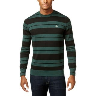 Lacoste Mens Pullover Sweater Striped Crew Neck|https://ak1.ostkcdn.com/images/products/is/images/direct/bc137b8852dab1b5d80f154eb9a2a566f63bc31a/Lacoste-Mens-Pullover-Sweater-Striped-Crew-Neck.jpg?impolicy=medium