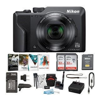 Link to Nikon COOLPIX A1000 Digital Camera with 32GB Card 2-Pack and Accessory Bundle Similar Items in Digital Cameras
