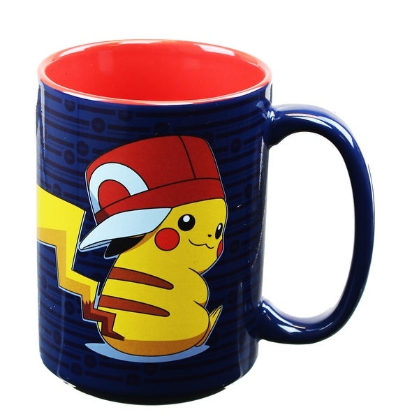 Pokemon Pikachu Trainer 16oz Coffee Mug - Multi