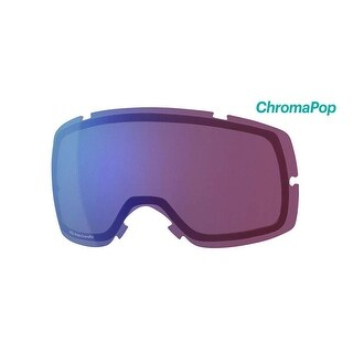 Smith Optics Vice Ski Goggle - Replacement Lens - ChromaPop Photochromic Rose Flash - VC6CPZ2