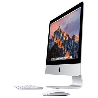 "Apple 21.5"" iMac, Retina 4K Display, 3.4GHz Intel Core i5 Quad Core, Silver, MNE02E/A (Spanish Keyboard)"