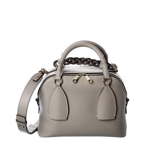Chloe Daria Medium Leather Shoulder Bag