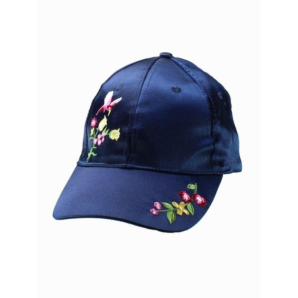 Shop NYC Underground NEW Navy Blue One Size Adjustable Embroidered Baseball  Cap 629 - Free Shipping On Orders Over  45 - Overstock - 20298828 8159b861d60