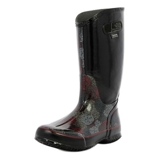 Bogs Boots Womens Rainboot Rosey Lightweight Pull On Rubber