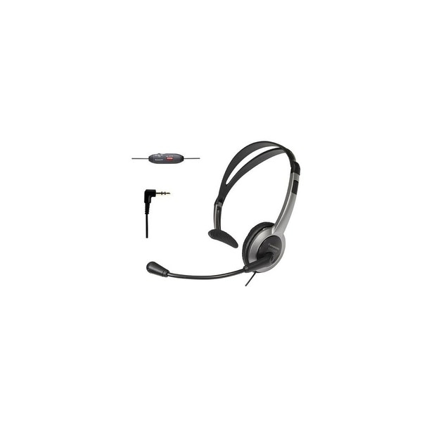 Panasonic KX-TCA430 Telephone Headset For AT&T Phones w/ Noise Cancelation Mic Volume Control