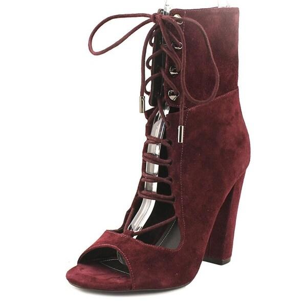 Kendall + Kylie Ella Dark Red Boots