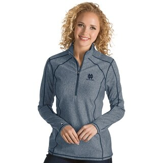 University of Notre Dame Ladies Tempo 1/4 Zip Pullover