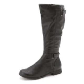Hush Puppies Womens Motive 16 Almond Toe Mid-Calf Fashion Boots