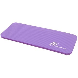 ProSource Yoga Knee Pad and Elbow Cushion 5/8 Fits Standard Mats for Pain Free Joints, Purple