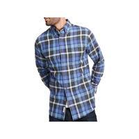 Weatherproof Vintage Mens Button-Down Shirt Flannel Plaid