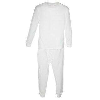 CTM® Men's Thermal Underwear Top and Bottom Set