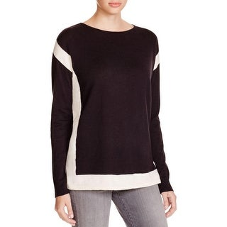 Vince Womens Pullover Sweater Knit Colorblock