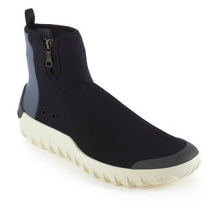 Prada Men's Neoprene High Top Sneaker Shoes Black