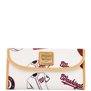 Dooney & Bourke MLB Nationals Continental Clutch (Introduced by Dooney & Bourke at $128 in Feb 2014)