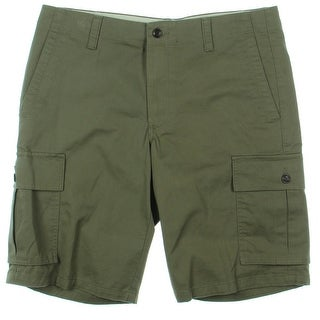 Dockers Mens Cargo Shorts Classic Fit Solid - 34