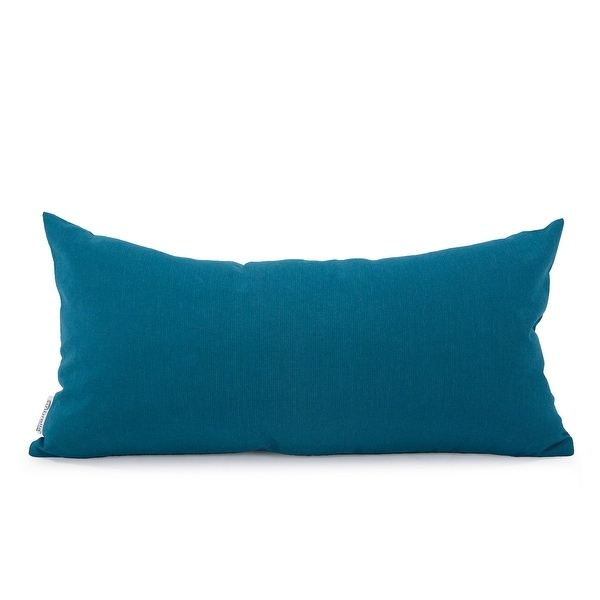 Seascape Turquoise Kidney Pillow. Opens flyout.
