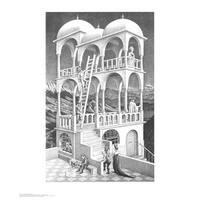 ''Belvedere'' by M.C. Escher Fantasy Art Print (25.625 x 21.75 in.)