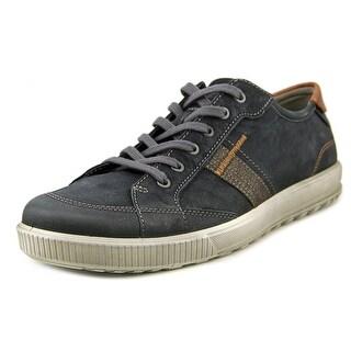 Ecco Ennio Round Toe Leather Sneakers