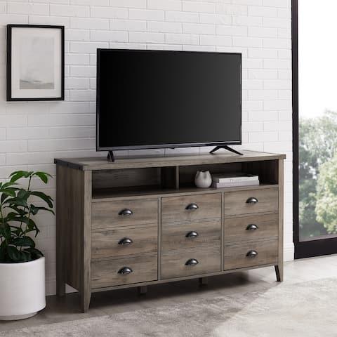 The Gray Barn 52-inch 3-Door TV Console