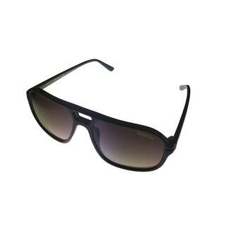 Timberland Men Sunglass Black Plastic Aviator, Gradient Lens TB7133 1B - Medium