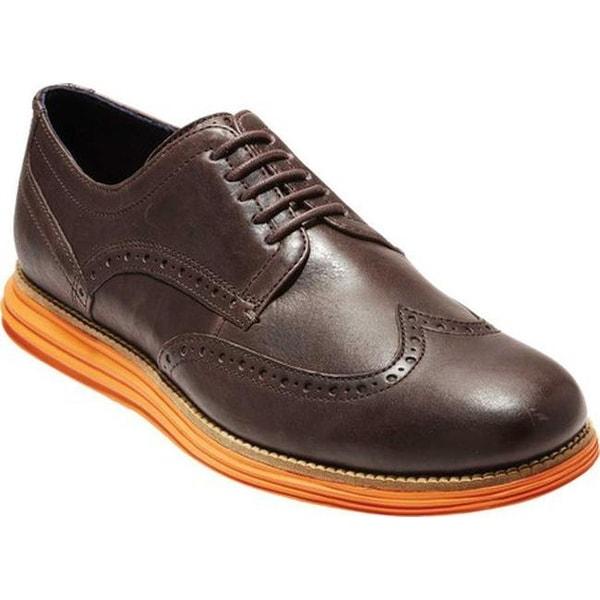 a2fb158642e Shop Cole Haan Men's W.Original Grand Wingtip Oxford Java Leather ...