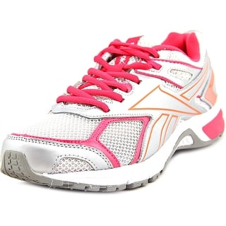 Reebok Quickchase Women Round Toe Synthetic Silver Running Shoe