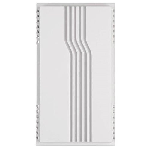 Carlon DH120 Wired Door Chime With Lines, White
