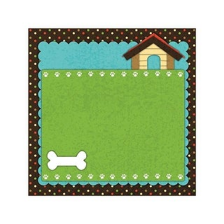 """Easy Peasy Page Layout W/3D Design 12""""X12""""-Dog"""