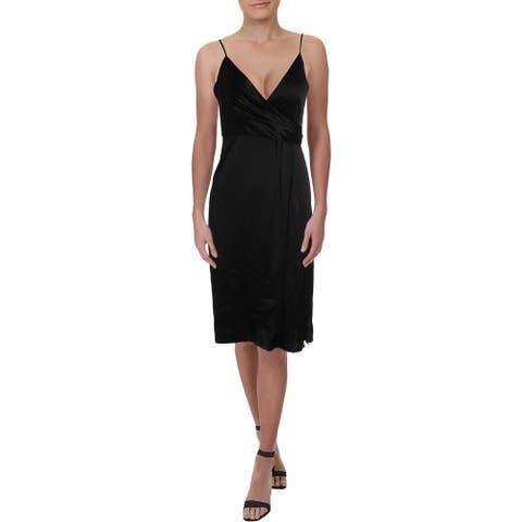 JILL Jill Stuart Womens Slip Dress Cocktail Satin
