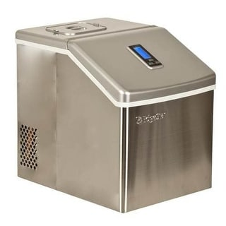 EdgeStar IP211 11 Inch Wide 2.2 Lbs. Capacity Portable Ice Maker with 20 Lbs. Da
