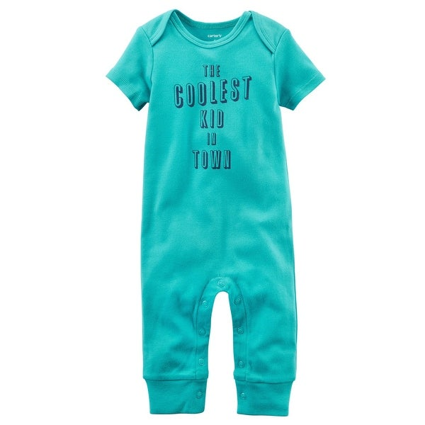 Carter's Baby Boys' Coolest In Town Jumpsuit, 9 Months