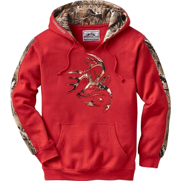 3ccb8998a2159 Shop Legendary Whitetails Men's Camo Outfitter Hoodie - Free Shipping On  Orders Over $45 - Overstock - 13372822