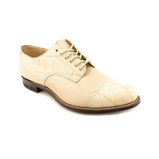 Stacy Adams Madison Oxford Men Round Toe Leather Ivory Oxford