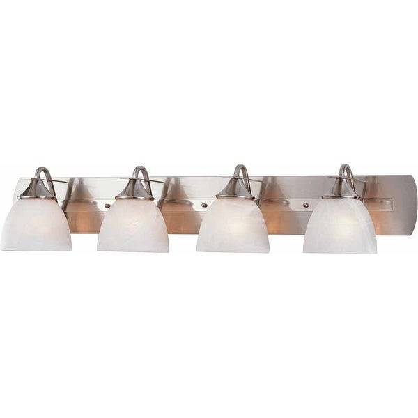 "Volume Lighting V4844 Durango 4-Light 43"" Width Bathroom Vanity Light"