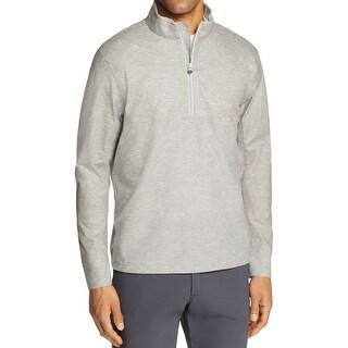 Greyson NEW Light Gray Mens Size Large L 1/2 Zip Comanche Jacket