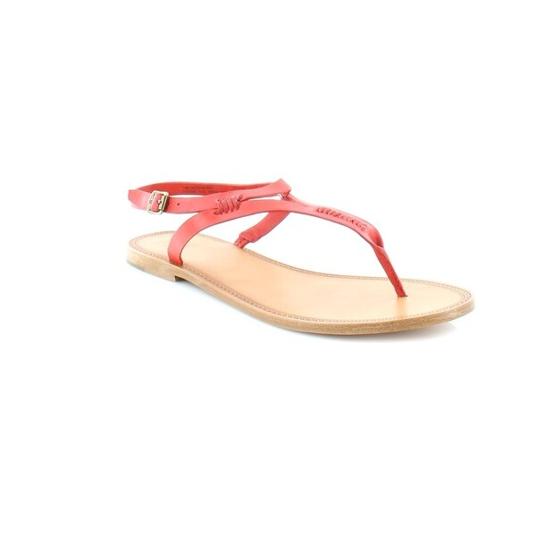 Frye Ruth Whipstitch Women's Sandals & Flip Flops Red
