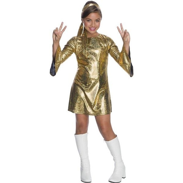 Shop Halloween Girls Hologram Disco Diva Costume - Extra Small - Free  Shipping Today - Overstock - 22933014 c38cd264509d