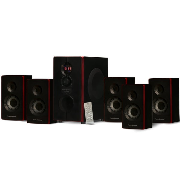 Theater Solutions TS516BT Home Theater Bluetooth 5.1 Surround Speaker System