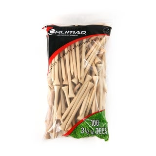 Orlimar 3 1/4-Inch Golf Tees 100-Pack (Natural)