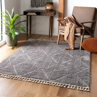 Safavieh Marrakech Bohemian & Eclectic Oriental Beige Polyester Rug
