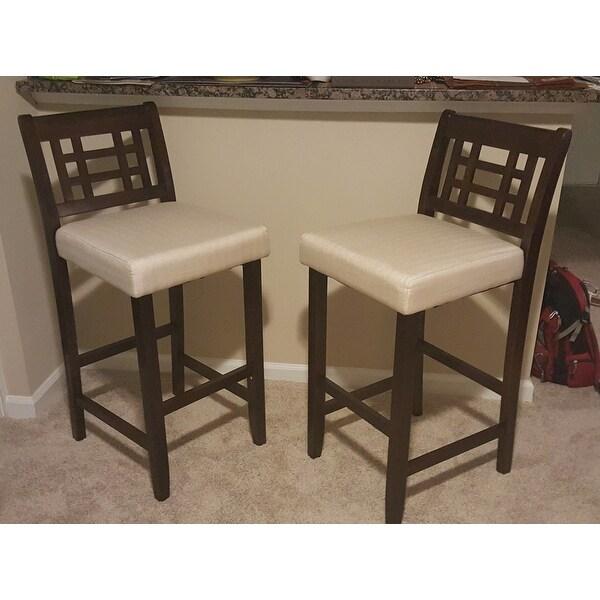 Amazing Top Product Reviews For Nadia 30 Inch Acacia Wood Barstool Inzonedesignstudio Interior Chair Design Inzonedesignstudiocom