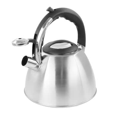 Mr. Coffee 3 Quart Stainless Steel Whistling Tea Kettle